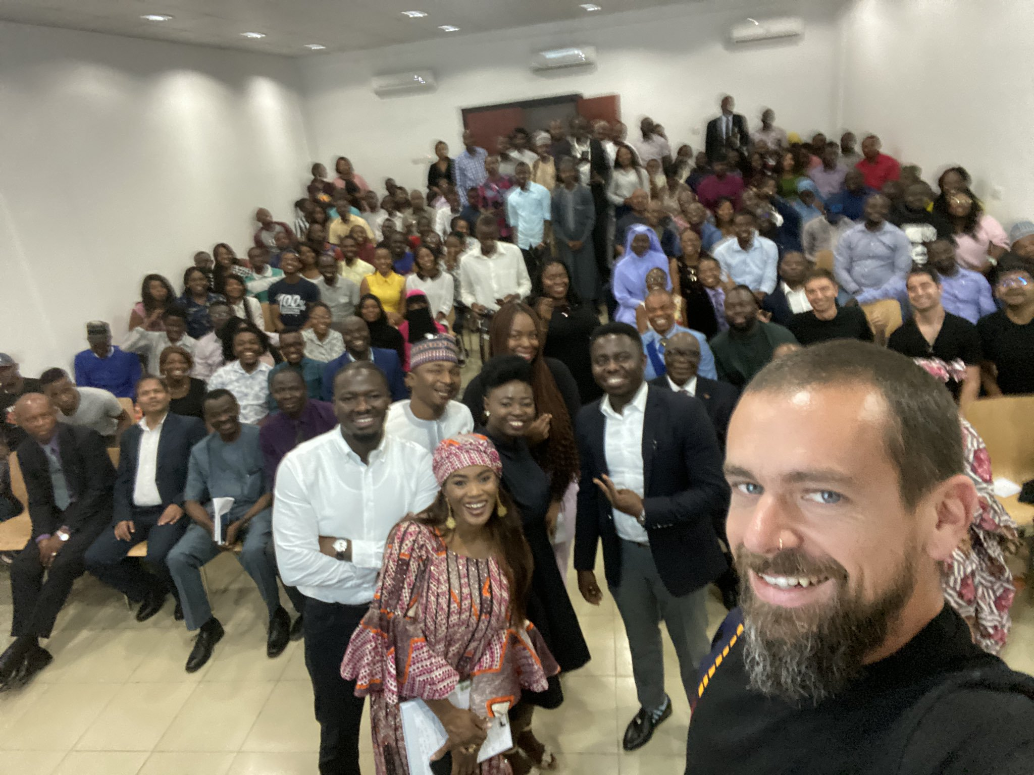 Twitter Ceo Jack Dorsey S Visit To Nigeria In Pictures Exclusive Africa